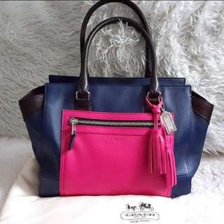 COACH Stylish leather tote