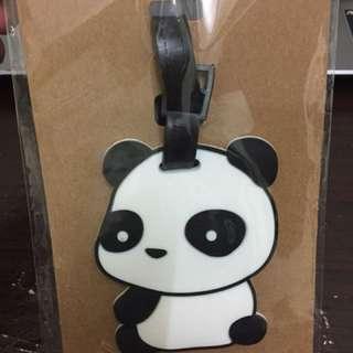 陸製熊貓行李吊牌