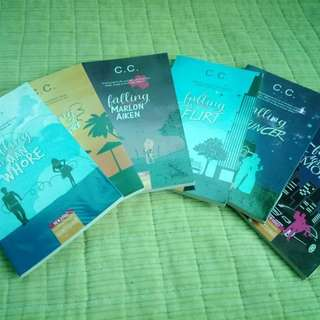 The Falling Series by C.C. (6 books)