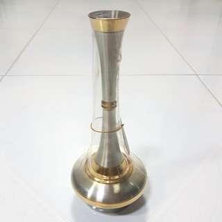 Crystal Pewter Vase