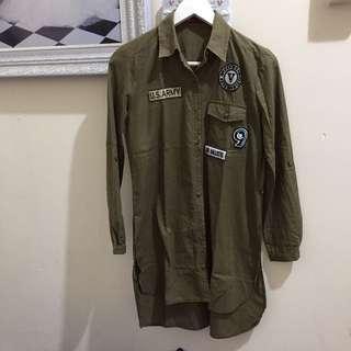 Dres Shinny Army patch
