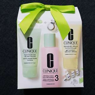 $35 Brand New In Box Clinique Trial Kit Gift Set