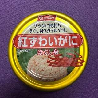 日本紅ずわいがに 罐頭 蟹肉