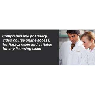 Comprehensive pharmacy video course online access