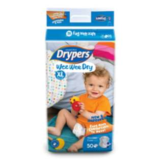 Drypers Tape Diapers XL