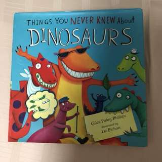 Children book about dinosaurs