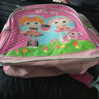 Authentic lalaloopsy backpack