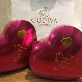 Godiva 2018 Valentine's chocolates 💝 美版Godiva2018情人節朱古力💝現貨