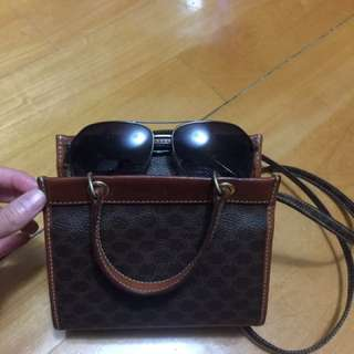 Celine vintage leather bag
