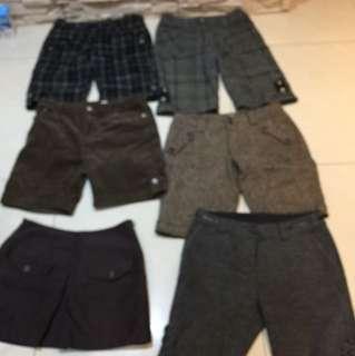 各式短褲29-31腰