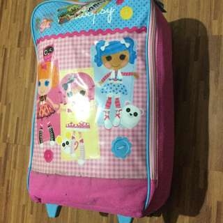 Authentic lalaloopsy small trolley