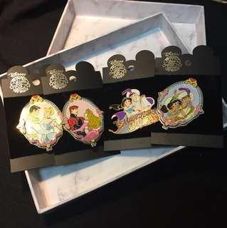 迪士尼王子公主系列襟章/ Disney Prince & Princess collection pin