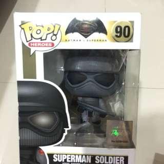 """Superman Soldier """"pop! Heroes"""""""