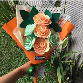 Rose size S (6 tangkai)
