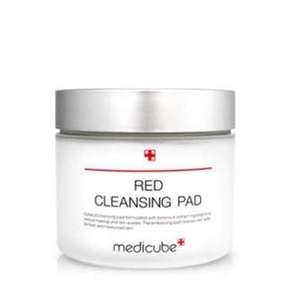 One Time Preorder! Medicube red cleansing pad