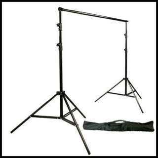 Rent a studio portable backdrop stand (2 sets available for rent) rental only