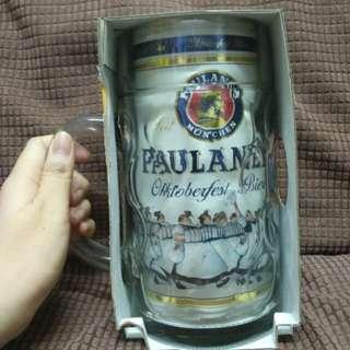 Paulaner Oktoberfest Glass beer mug 1.0L