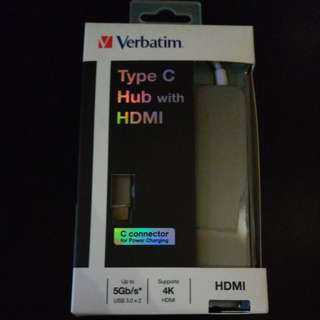 Verbatim Type C Hub with HDMI