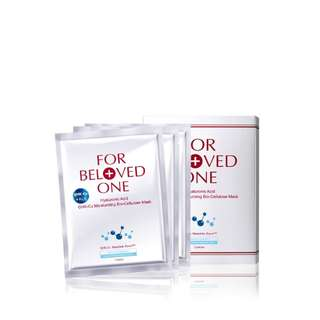 FOR BELOVED ONE HYALURONIC ACID BIO-CELLULOSE MASK