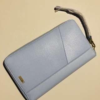 Kikki K Travel Wallet Light Blue