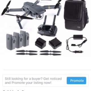 Dji fly more combo (only accessories)