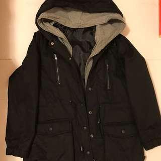 韓版冬季風衣外套