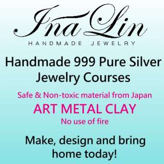 Pure silver handmade jewelry course