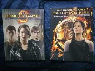 The Hunger Games & Catching Fire Illustrated Movie Companions Bundle