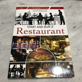 How to start and run a Restaurant, 2nd edition