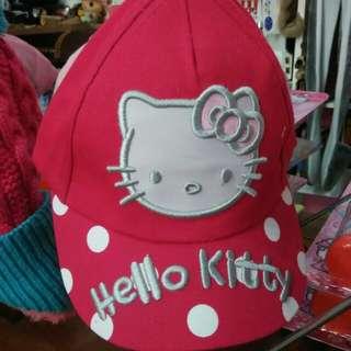 Hello Kitty Kids Cap / Topi Budak