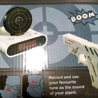 Gun Boom Clock