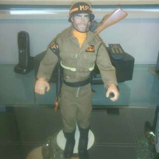 12 inch GI Joe MP Doll