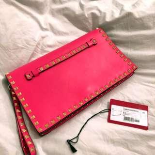 Valentino Pink Clutch 💕