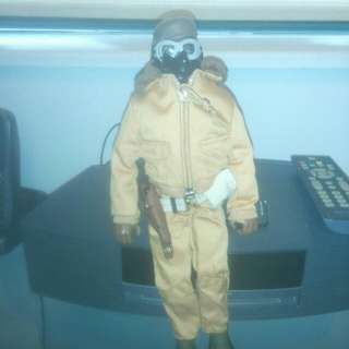12 inch GI joe fighter pilot Doll