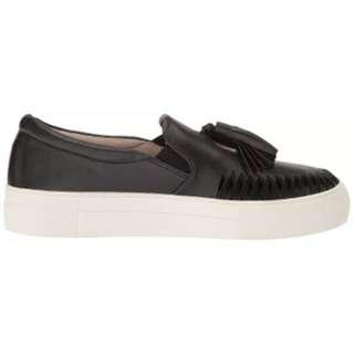 VINCE - leather tassel platform sneaker - size 7
