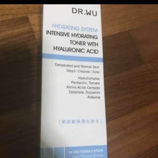 Dr wu intensive hydrating toner