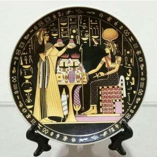 Pajangan Piring Keramik Mesir Sedang