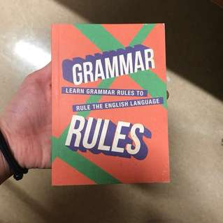 Grammar Rules Book