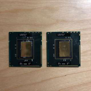 Intel matched Xeon X5570 CPU with IHS removed