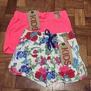 Cotton On Kids Shorts Bundle B