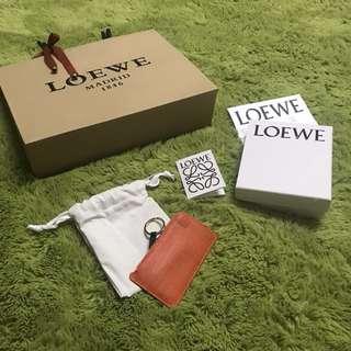 全新 LOEWE羅威 鑰匙零錢包