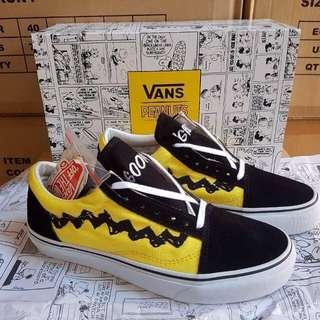 Vans Old Skool x peanuts waffle icc Size 40-44  365 Premium Original Quality