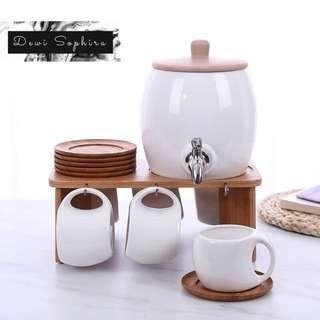 Bamboo Ceramic Dispenser (T60EX)