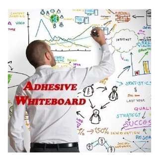 👣 ADHESIVE WHITEBOARD