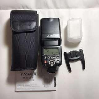 Yongnuo 永諾 YN 560III 閃光燈 無線閃光