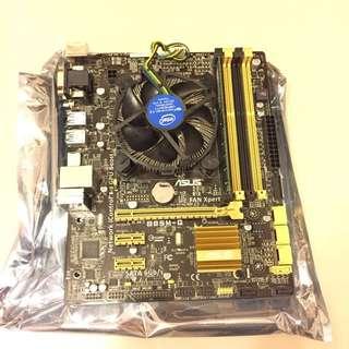 I5 4460,Asus B85M-G,Kingston DDR3 8GB 1600MHz