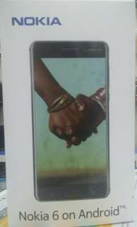 Nokia 6 on Android dijual credit