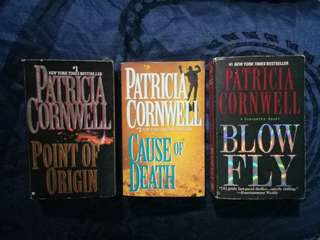 Patricia Cornwell book bundle 3
