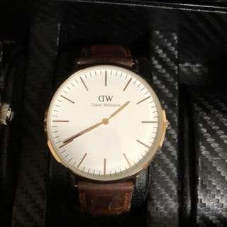 Daniel Wellington brown color watch