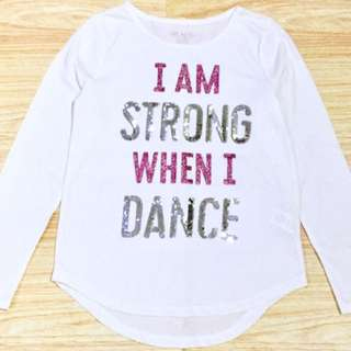 I AM STRONG BRANDED TSHIRT